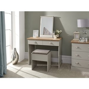 Gfw Kendal Dressing Table With Stool, Paint Grey