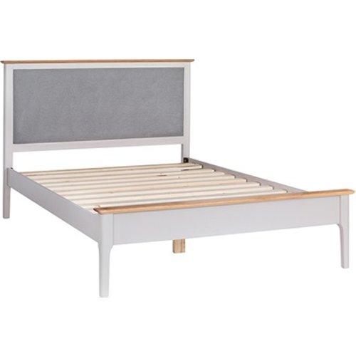 Westpoint Mills Norfolk White Solid Oak Slatted Bed Frame