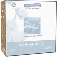 Protect A Bed Protectabed Cool Cotton Mattress Protector - European Single (90cm X 200cm)