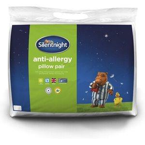Silentnight Anti Allergy Pillow Twin Pack - Pillow