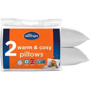 Silentnight Warm  Cosy Pillow Twin Pack - Pillow