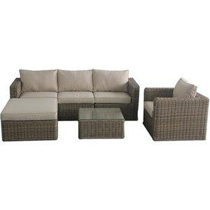Maze Rattan Winchester Chaise Sofa Set