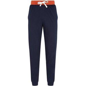 Mens **burton Navy Jersey Pyjama Bottom - Blue, Blue Br35p07rnvy Mens Outerwear, Blue