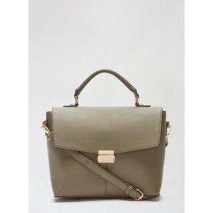 Dorothy Perkins Womens Khaki Top Handle Tote Bag, Khaki Dp18730907 Bags, Khaki