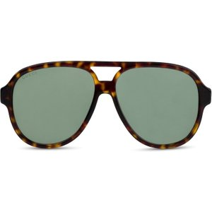 Gucci Havana Tortoise Aviator Sunglasses  - Size One Size 8378119032019 Accessories, TORTOISE