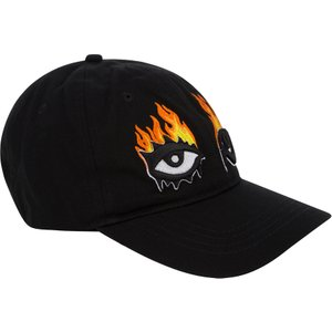 Haculla Black Tie-dye Cotton Eyes On Fire Dad Cap - Size 537 Mhhc0001 Accessories, 537