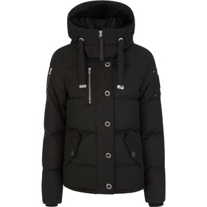 Moose Knuckles Black Knowlesville Jacket - Size 12 - 14 537 Womk0006 Mens Outerwear, 537