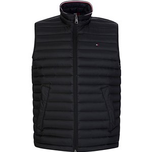 Tommy Hilfiger Black Packable Down Gilet - Size 537 Moth0009 Mens Outerwear, 537
