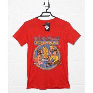 Steven Rhodes Devil's Music T Shirt Srdevmus0023 Novelty T Shirts