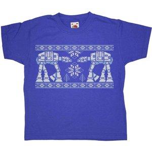 8ball Originals Knitted Jumper Style Kids T Shirt - Snow Walkers Msimp1100297 Novelty T Shirts
