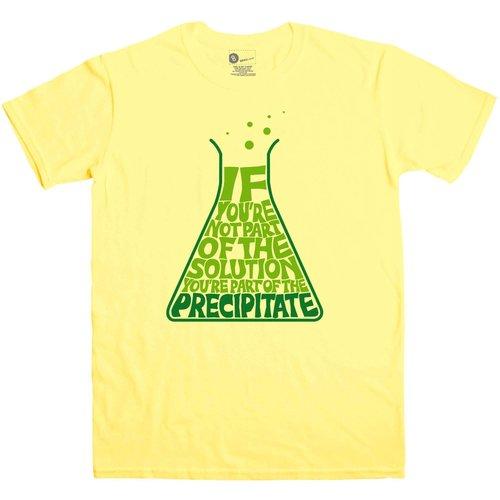 8ball Originals Nerd Geek Science Men's T Shirt - Precipitate Msimp140119634 Novelty T Shirts