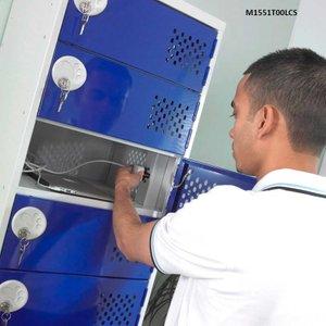 Five Door 5 Socket Laptop Charging Locker 900 X 450 X 450 Mh551500lcs Office Supplies
