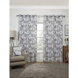 Amelia Eyelet Curtains 66-inches Iw486168