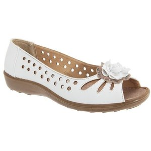 Boulevard Womens/ladies Punched Open Toe Iw540106