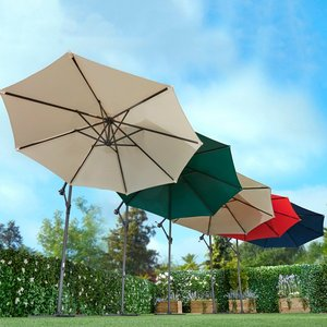 Cantilever Parasol With Free Cover Iw489364