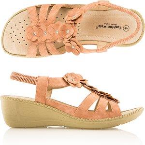 Cushion Walk Comfort Flower Trim Sandal Iw461834