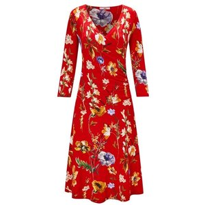 Joe Browns Moonlit Petal Wrap Dress Iw494256 Womens Accessories