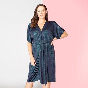 Kasara Sparkle Kimono Dress Iw487120
