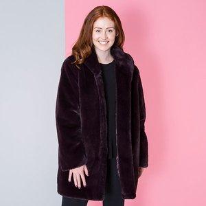 Stolen Heart Luxury Faux Fur Coat Iw475186