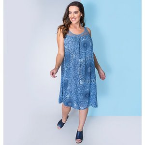 Sugar Crisp Crochet Circle Print Dress Iw479268