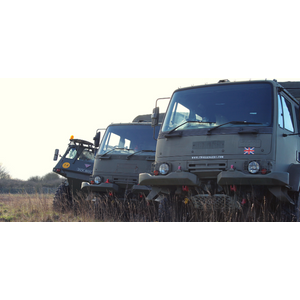 Three Vehicle - Military And Fire Engine Driving Experience Experience Days 8004