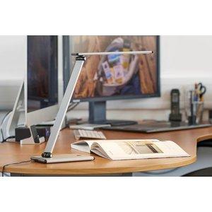 Unilux Terra Desk Lamp Led Silver 18880hb