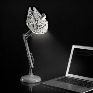 Millennium Falcon Poseable Table Lamp Mfalcon