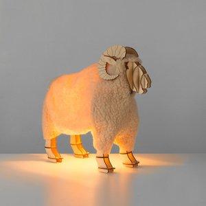 Ronald Designer Ram Table Lamp (20110) Ramlamp