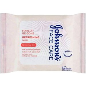 Johnsons Face Care Refreshing Facial Cleansing Wipes