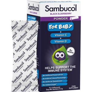 Sambucol Black Elderberry Baby Powder