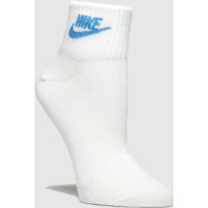 Accessories Nike White & Pl Blue Essential Ankle 3pk White/pl Blue 7901651570 380, White/pl blue