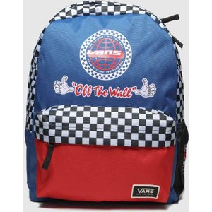 Accessories Vans Navy & Red Bmx Backpack Navy/red 7509754370 1, Navy/red