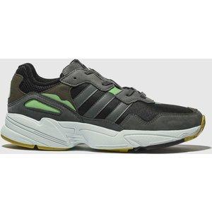 Adidas Black & Grey Yung 96 Trainers Black/grey 3424237160 430, Black/grey