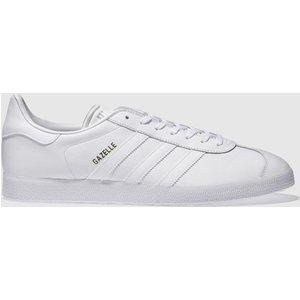 Adidas White Gazelle Trainers 3405761020 440, White