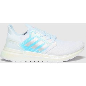 Adidas White Ultraboost 20 Trainers 1920831060 370, White