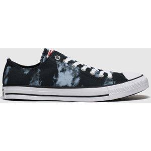 Converse Black & Grey Cons Ctas Back To Shore Ox Trainers Black/grey 3410477170 460, Black/Grey