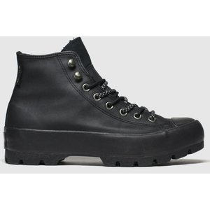 Converse Black All Star Lugged Trainers 1922137020 370, Black