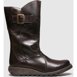 Fly London Dark Brown Mes 3 Boots 1543186120 400, Dark Brown