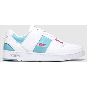 Lacoste White & Green Thrill Trainers White/green 1952011720 360, White/green