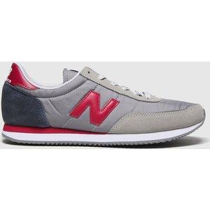 New Balance Grey & Navy 720 Trainers Grey/navy 3403275250 455, Grey/Navy