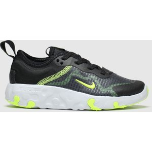 Nike Black & Green Renew Lucent Trainers Junior Black/green 2603188560 280, Black/green