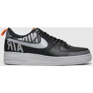 Nike Black & Grey Air Force 1 07 Lv8 Trainers Black/grey 3406037120 440, Black/Grey