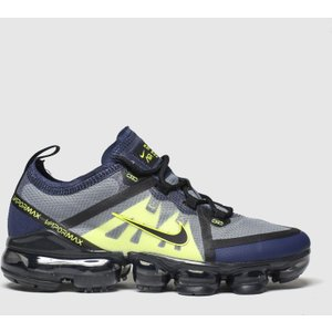 Nike Black & Grey Air Vapormax 2019 Trainers Youth Black/grey 2714047160 370, Black/Grey