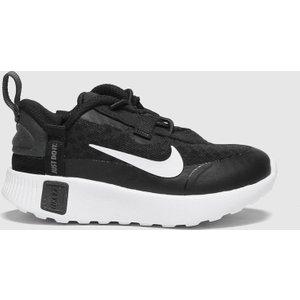 Nike Black & Grey Reposto Trainers Toddler Black/grey 2514537160 205, Black/Grey