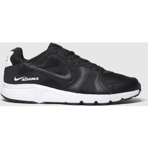 Nike Black & White Atsuma Trainers Black/white 3406177260 410, Black/White
