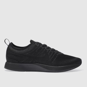 Nike Black Dualtone Racer Trainers 3421467060 440, Black