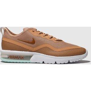 Nike Peach Air Max Sequent 4.5 Trainers 1906642960 380, Peach