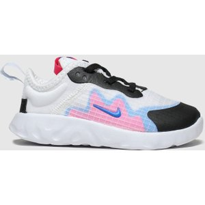 Nike White & Black Renew Lucent Trainers Toddler White/black 8504771260 205, White/black