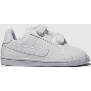 Nike White Court Royale Trainers Toddler 2505241020 205, White