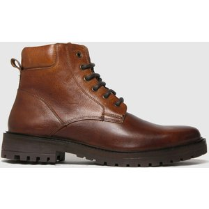 Schuh Brown Mason Lace Up Boot Boots 3212496020 410, Brown